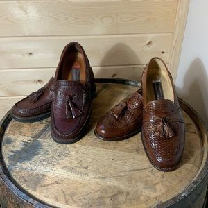 Johnston and Murphy bundle of loafers size 8M EUC
